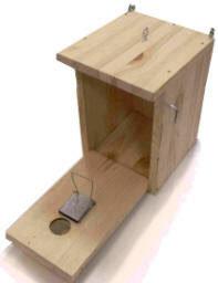 Ловушка-дуплянка для воробьев